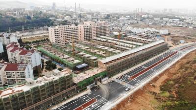 [看房日记]开远凤湖庭院2019年5月20日施工进度