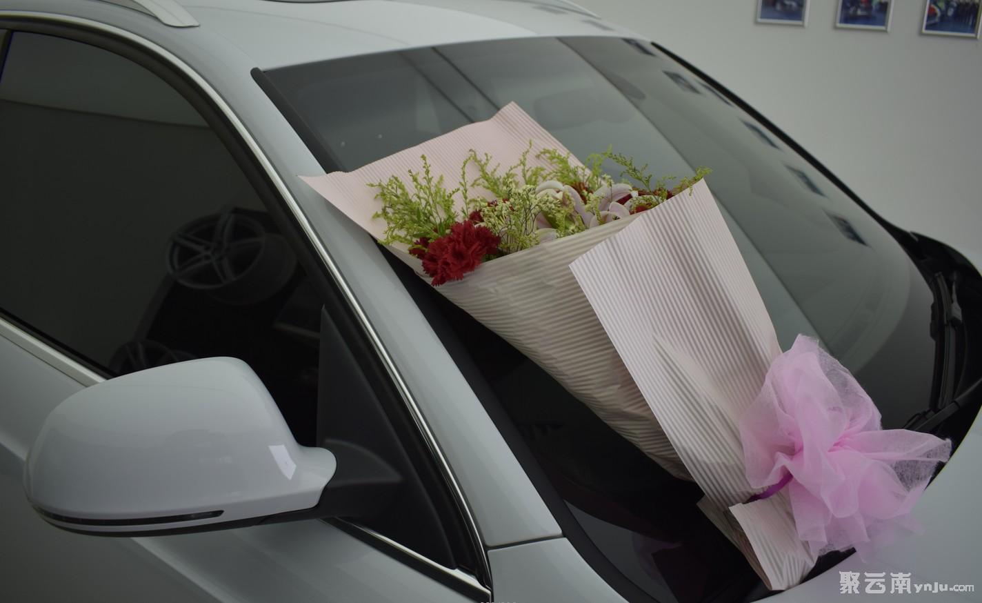 奖励自己的大礼物奥迪Q3提车作业